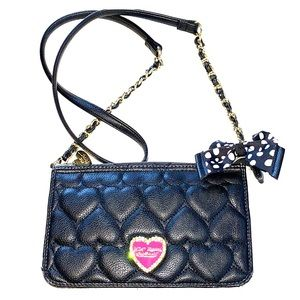 BETSEY Quilted Heart Crossbody